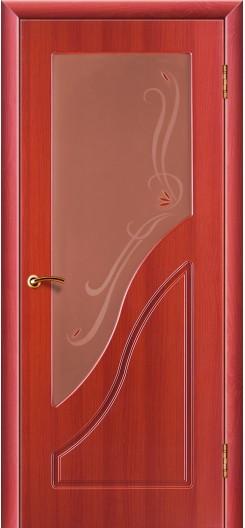 Дверь ПВХ Жасмин «Зодчий», вишня
