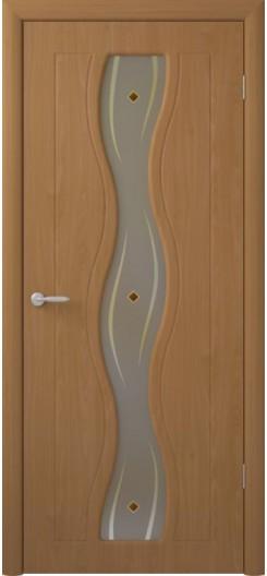 Дверь ПВХ ALBERO, миланский орех