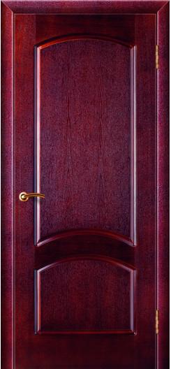 Дверь из шпона Зодчий «Классика», красный ясень