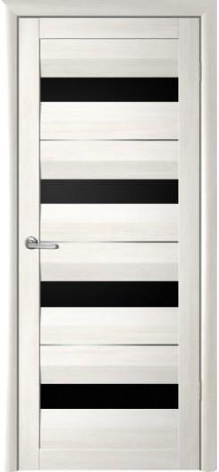 Дверь экошпон Фрегат «Барселона», черный акрилат