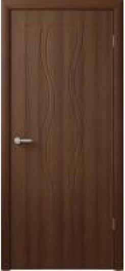 Дверь ПВХ «Бергамо», орех таволато.
