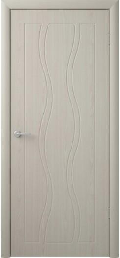 Дверь ПВХ «Бергамо», беленый дуб