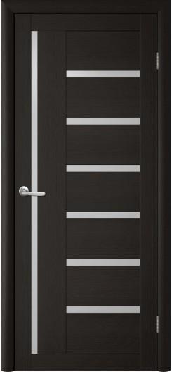 Дверь Экотекс TD T-3 Лиственница темная, Белый акрилат