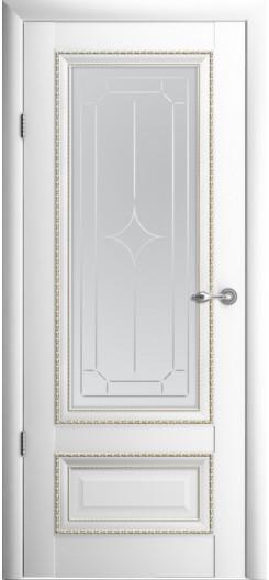 Царговая дверь Albero «Версаль-1», белая