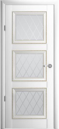 Царговая дверь Albero «Версаль-3», белая