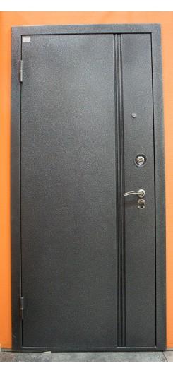 Металлическая дверь Микрон «Мадрид», цвет Венге + выбор внутренней отделки
