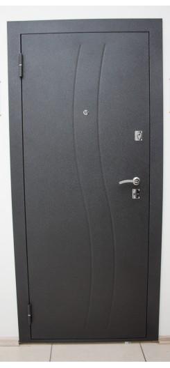 Металлическая дверь Цитадель «Дверь Водолей», цвет Венге