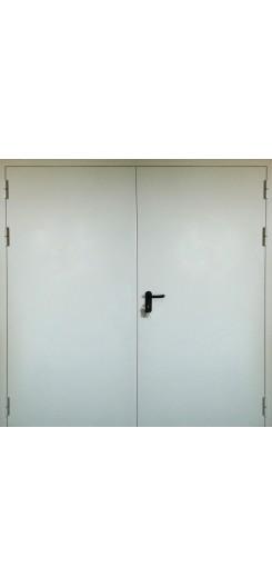 Противопожарная дверь двухстворчатая ПГ