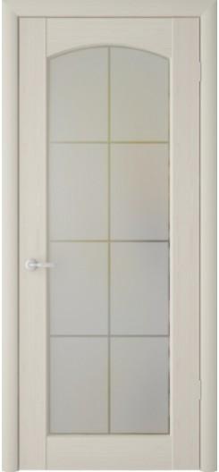 Дверь ПВХ Фрегат «Верона», беленый дуб