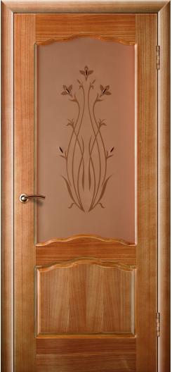 Дверь из шпона Зодчий «Диана», орех