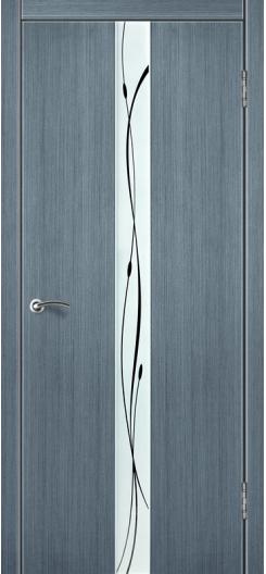 Дверь из шпона Лайн 10 «Зодчий», серый дуб