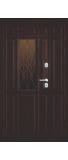 Двустворчатая металлическая дверь LUIGI 22