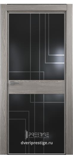 """Межкомнатная дверь """"Престиж"""" — Модель Ultra 18 рисунок Трек"""