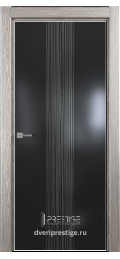 """Межкомнатная дверь """"Престиж"""" — Модель Ultra 19 рисунок Рейн"""
