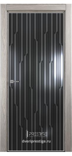 """Межкомнатная дверь """"Престиж"""" — Модель Ultra 19 рисунок Энигма"""